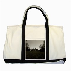 Vintage Usa Mount Vernon George Washington House 1970 Two Toned Tote Bag by Vintagephotos