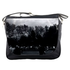 Vintage Usa Washington Park 1970 Messenger Bag by Vintagephotos