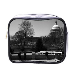 Vintage Usa Washington The Capitol 1970 Single Sided Cosmetic Case by Vintagephotos