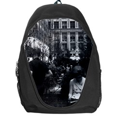 Vintage Usa New York Rockefeller Center 1970 Backpack Bag by Vintagephotos