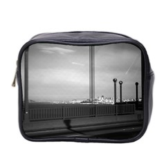 Vintage Usa California San Francisco Golden Gate Bridge Twin Sided Cosmetic Case by Vintagephotos