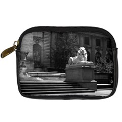 Vintage Usa New York City Public Library 1970 Compact Camera Case by Vintagephotos