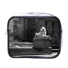 Vintage USA New York city public library 1970 Single-sided Cosmetic Case