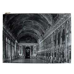 Vintage France palace of versailles mirrors galery 1970 Cosmetic Bag (XXL)