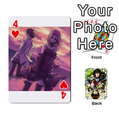 Code Geass By David    Playing Cards 54 Designs   6xpb4uvp058l   Www Artscow Com Front - Heart4