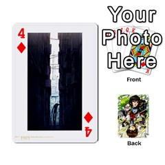 Code Geass By David    Playing Cards 54 Designs   6xpb4uvp058l   Www Artscow Com Front - Diamond4