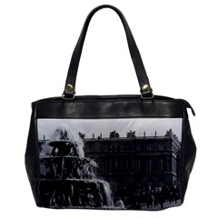 Vintage France Palace Of Versailles Pyramid Fountain Single Sided Oversized Handbag by Vintagephotos