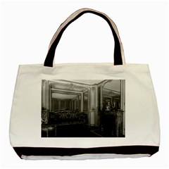 Vintage France Palace Versailles Mme Du Barry s Room Black Tote Bag by Vintagephotos