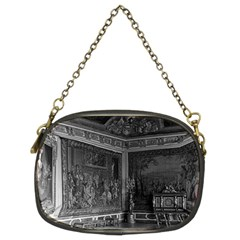 Vintage France Palace Of Versailles Stade Dining Room Twin Sided Evening Purse
