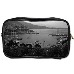Vintage Principality of Monaco The port of Monaco 1970 Twin-sided Personal Care Bag by Vintagephotos