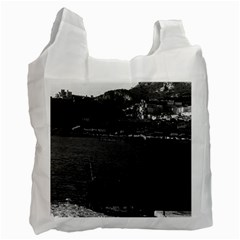 Vintage Principality Of Monaco The Port Of Monaco 1970 Twin Sided Reusable Shopping Bag by Vintagephotos