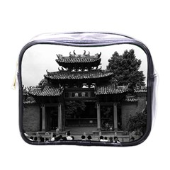 Vintage China Canton Taoist Ancestral Temple 1970 Single Sided Cosmetic Case by Vintagephotos