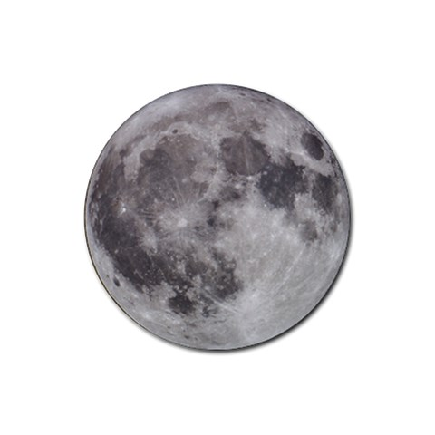 Full Moon Coasters By Bg Boyd Photography (bgphoto)   Rubber Round Coaster (4 Pack)   Imcw1c9vv9h1   Www Artscow Com Front