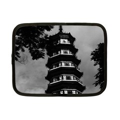 Vintage China Canton The Flowery Pagoda 1970 7  Netbook Case by Vintagephotos