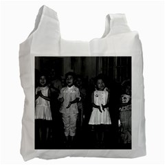 Vintage China Changsha Childcare 1970 Twin Sided Reusable Shopping Bag by Vintagephotos