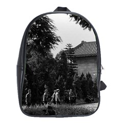 Vintage China Canton Martyrs Parc 1970 School Bag (xl) by Vintagephotos