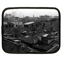 Vintage China Canton City 1970 13  Netbook Case by Vintagephotos