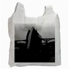 Vintage China Changsha Xiang Jiang River Boat 1970 Twin Sided Reusable Shopping Bag by Vintagephotos