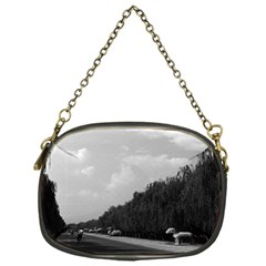 Vintage China Pekin Beautiful Pathway Ming Tombs 1970 Single Sided Evening Purse by Vintagephotos
