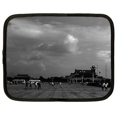 Vintage China Pekin Tiananmen Square 1970 15  Netbook Case by Vintagephotos