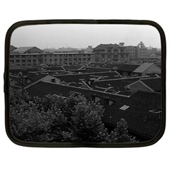 Vintage China Shanghai City 1970 12  Netbook Case by Vintagephotos