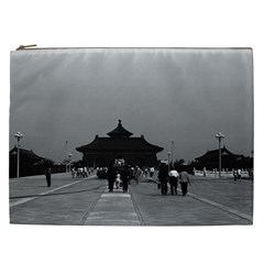 Vintage China Pekin Forbidden City Gate 1970 Cosmetic Bag (xxl) by Vintagephotos