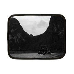 Vintage China Guilin River Boat 1970 7  Netbook Case by Vintagephotos