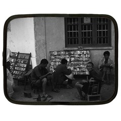 Vintage China Changsha book lending 1970 13  Netbook Case by Vintagephotos