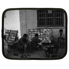 Vintage China Changsha Book Lending 1970 15  Netbook Case by Vintagephotos