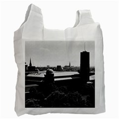 Vintage Germany Munich Deutsch Museum 1970 Single Sided Reusable Shopping Bag by Vintagephotos