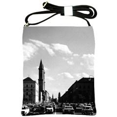 Vintage Germany ludwigstra?e University ludwing church Cross Shoulder Sling Bag