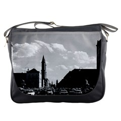 Vintage Germany Ludwigstra?e University Ludwing Church Messenger Bag by Vintagephotos