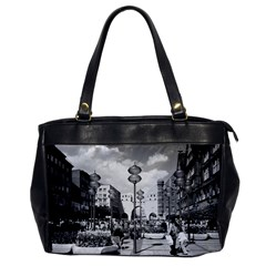 Vintage Germany Munich Towngate Karistor 1970 Single Sided Oversized Handbag by Vintagephotos
