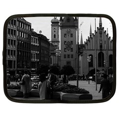Vintage Germany Munich Church Marienplatz 1970 13  Netbook Case