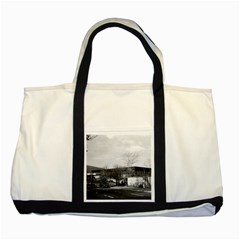 Vintage Germany Berlin New National Gallery 1970 Two Toned Tote Bag by Vintagephotos