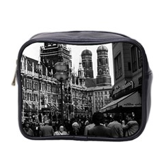 Vintage Germany Munich Frauenkirche Frauenplatz 1970 Twin Sided Cosmetic Case by Vintagephotos