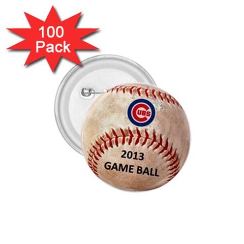 Cubs Button By Giraldo Gutierrez   1 75  Button (100 Pack)    Ocxk347jx192   Www Artscow Com Front