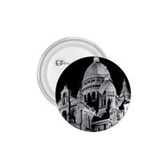Vintage France Paris The Sacre Coeur Basilica 1970 Small Button (round) by Vintagephotos