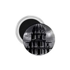 Vintage France Paris Church Saint Louis Des Invalides Small Magnet (round) by Vintagephotos