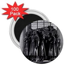 Vintage France Paris  Invalides Marshal Foch Tomb 1970 100 Pack Regular Magnet (round) by Vintagephotos