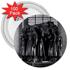 Vintage France Paris  Invalides Marshal Foch Tomb 1970 100 Pack Large Button (round) by Vintagephotos