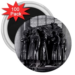 Vintage France Paris  Invalides Marshal Foch Tomb 1970 100 Pack Large Magnet (round) by Vintagephotos