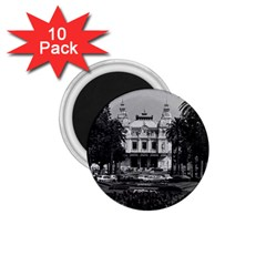 Vintage Principality Of Monaco Monte Carlo Casino 10 Pack Small Magnet (round) by Vintagephotos