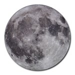 Full Moon Mousepad - Round Mousepad
