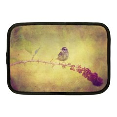 Palm Warbler 10  Netbook Case by heathergreen