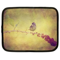 Palm Warbler 15  Netbook Case by heathergreen