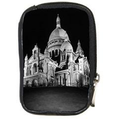 Vintage France Paris The Sacre Coeur Basilica 1970 Digital Camera Case by Vintagephotos