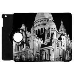 Vintage France Paris The Sacre Coeur Basilica 1970 Apple Ipad Mini Flip 360 Case by Vintagephotos
