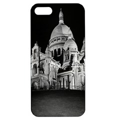 Vintage France Paris The Sacre Coeur Basilica 1970 Apple Iphone 5 Hardshell Case With Stand by Vintagephotos