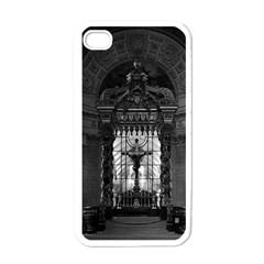 Vintage France Paris Royal Chapel Altar St James Palace White Apple Iphone 4 Case by Vintagephotos